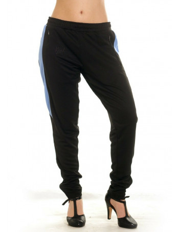 Panther Trackpants BlackNBlue by BSAT
