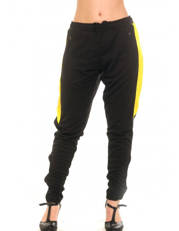 Panther Trackpants BlackNYellow by BSAT