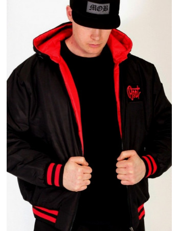BSAT Bronx Black/Red Jacket