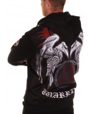 Raven Shield ZipHoodie by Nordic Nation