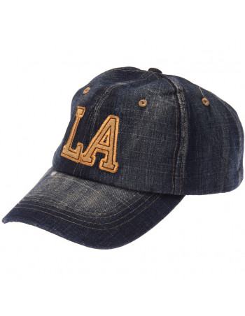 Baseball cap, LA Blue Denim