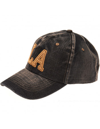 Baseball cap, LA DarkBlue Denim