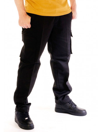 Access Belted Cargo Pants Black