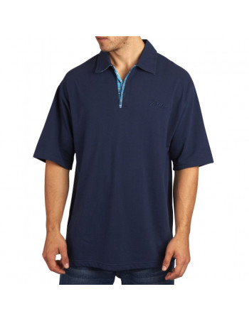 Townz Polo Shirt Plaid Navy