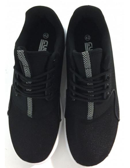 Cultz Black / White Sneakers