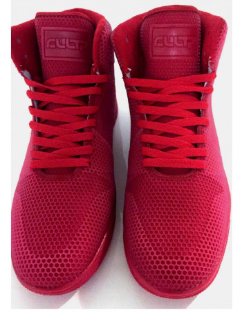 Cultz hi-top Red Trim Sneaker