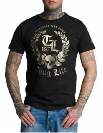 Thug Life Celebrate T-Shirt Black