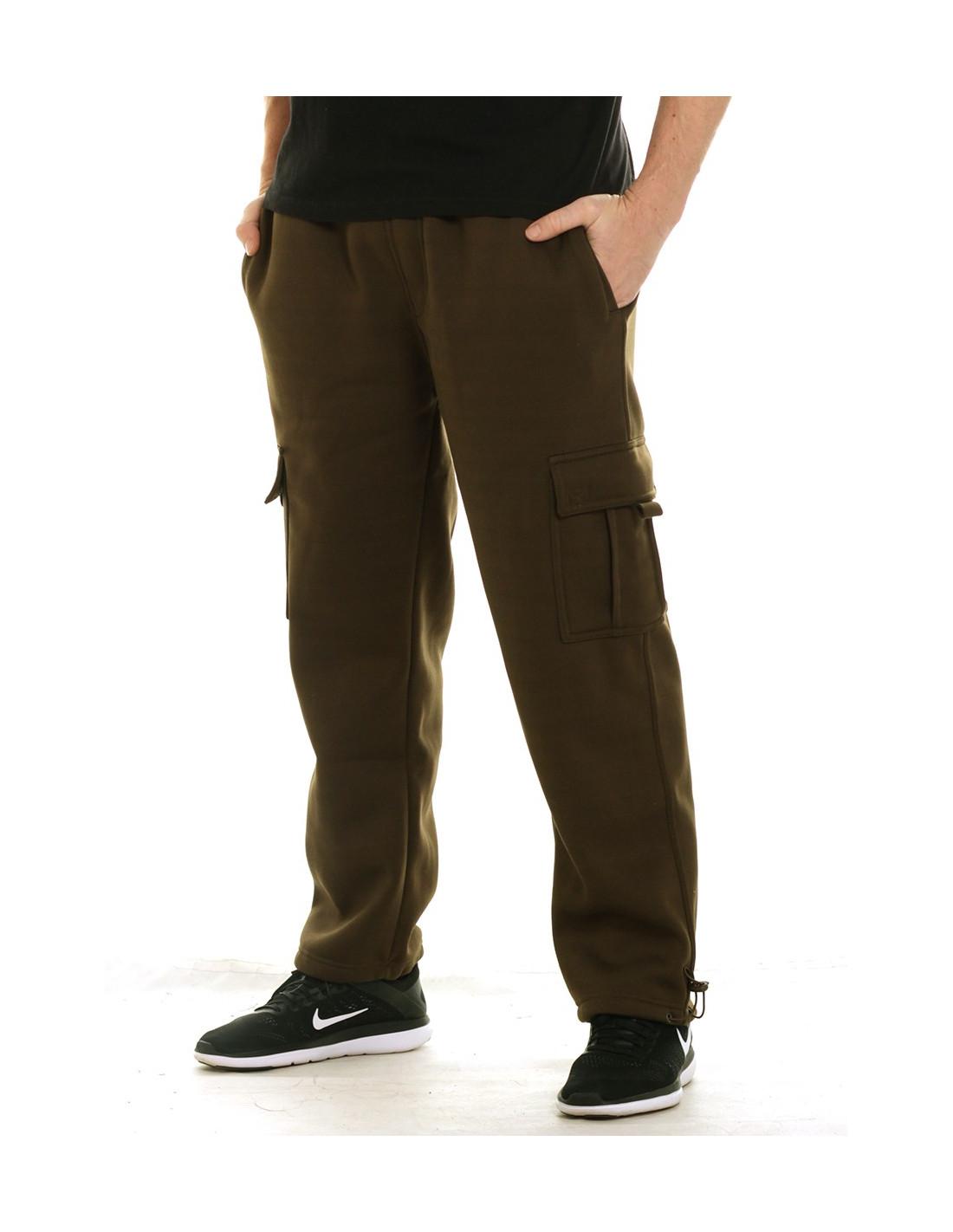 Access Cargo Sweatpants Olive