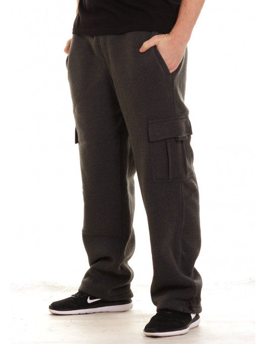 Access Cargo Sweatpants Charcoal