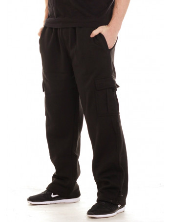 Access Cargo Sweatpants Black