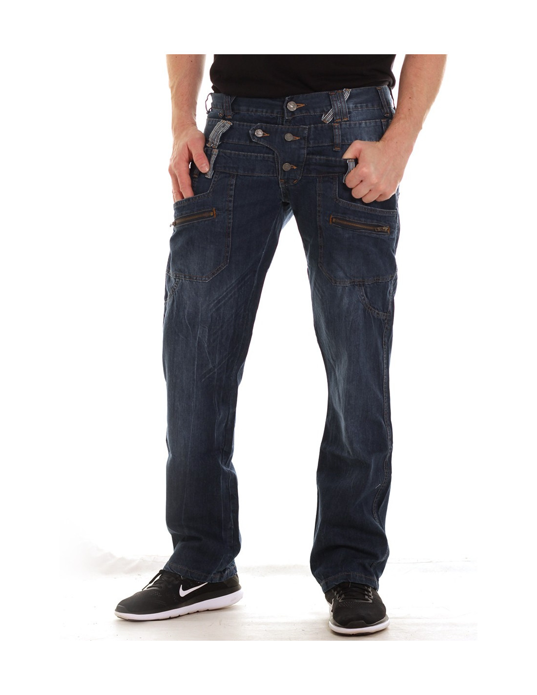 Loose & Regular Fit Jeans