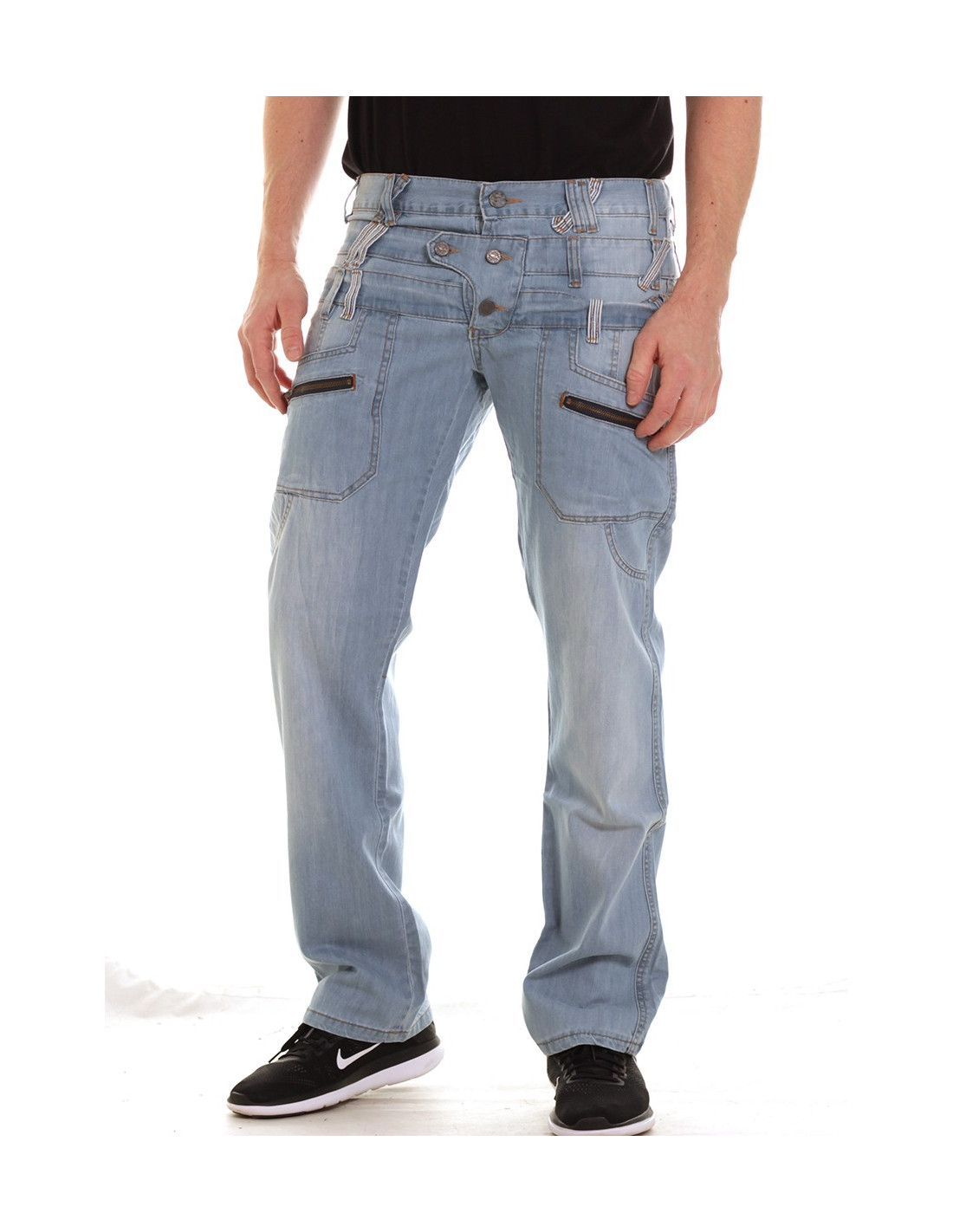 Loose & Regular Fit Jeans