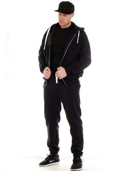 Access Solid Sweat Suit Black