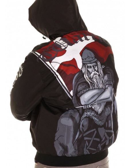 Nordic Nation Holger Danske Winter Jacket Black