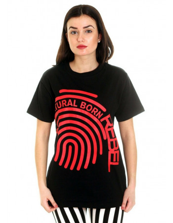 Rebels United Natural Born Rebel Fingerprint Tee