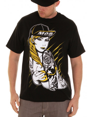 MOB INC Tee Cap Girl Yellow