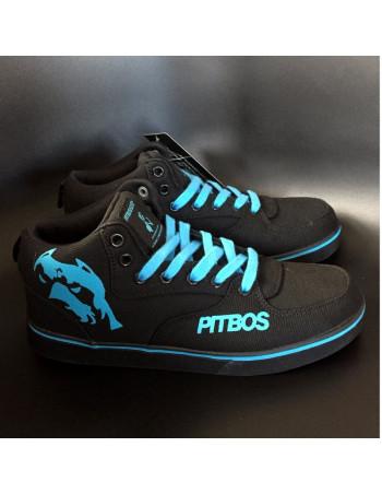 BrandDogLogo Shoes by Pitbos BlackNBlue