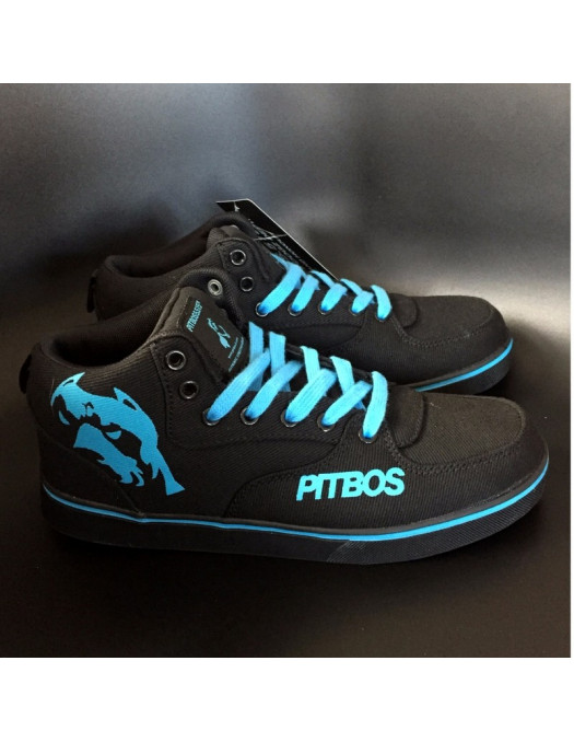 BrandDogLogo Shoes by Pitbos BlackNBlue