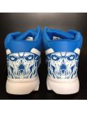 Skull Race Shoes by BSAT Blue