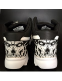 Skull Race Shoes by BSAT Black