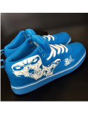 Cali Skull Shoes by BSAT BlueNWhite