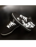 Cali Skull Shoes by BSAT BlackNWhite