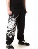 Crown Skull Sweatpants by BSAT