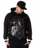 Crown Skull ZipHoodie by BSAT