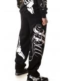 Cali Street Sweatpants Black/WhiteGrey/Gold