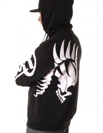 Skull Warrior ZipHoodie by BSAT