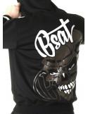 Dominator Skull ZipHoodie by BSAT