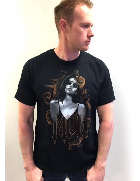 Chica de Muertos Tee by MOB Inc
