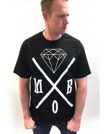 MOB Inc Tee BlackNWhite