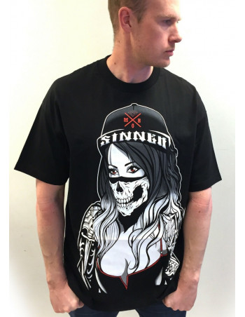 Sinner Tee by MOB Inc