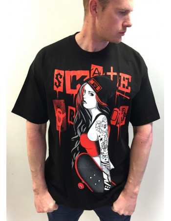 Skater Tee by MOB Inc