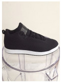 Cultz Medium Hi Sneaker Black