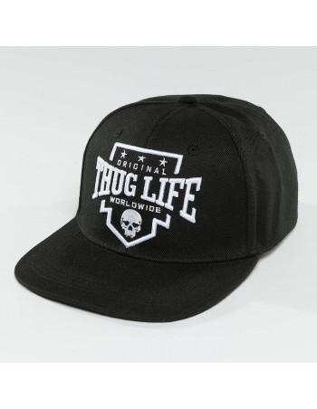 Thug Life Wordwide Snapback Cap