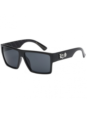 Locs Square Free Black Sunglasses