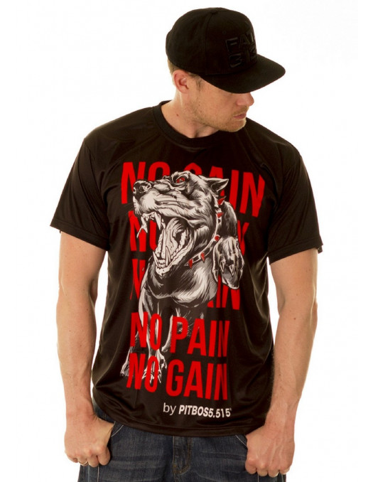 Fighter No Pain No Gain Tee by Pitbos