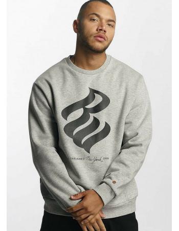 Rocawear Jumper Sweatshirt Big Logo Grey