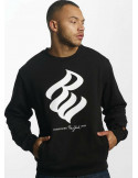 Rocawear Jumper Sweatshirt Big Logo Black