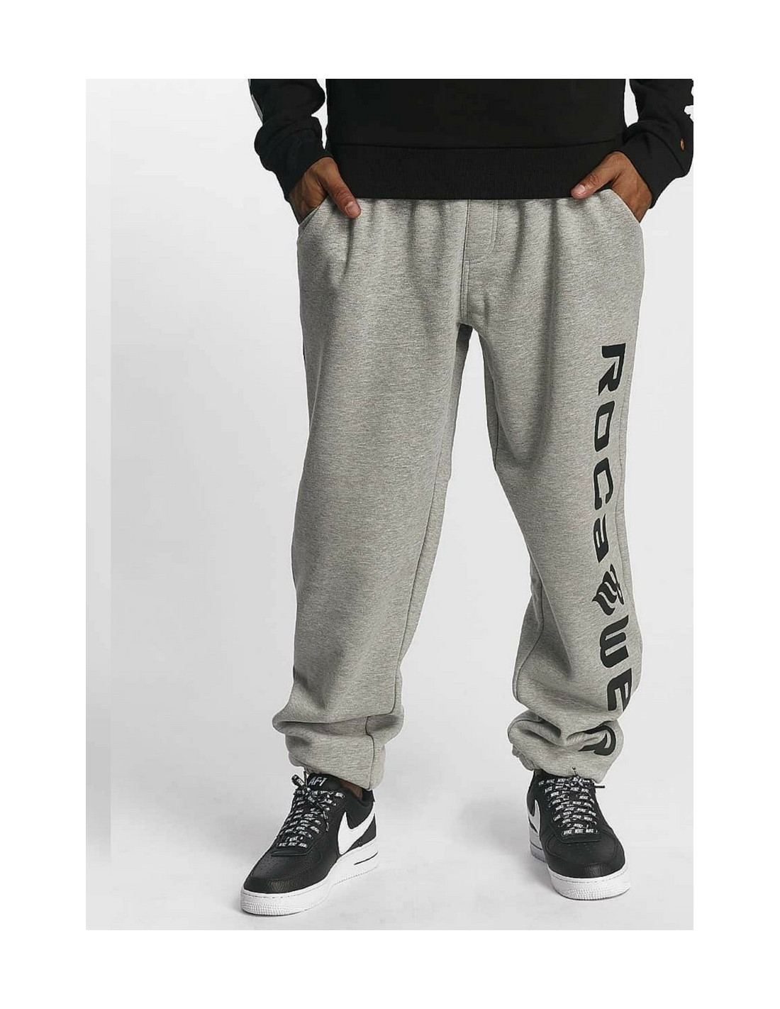 Rocawear Classic Sweat Pant Basic Fleece Grey