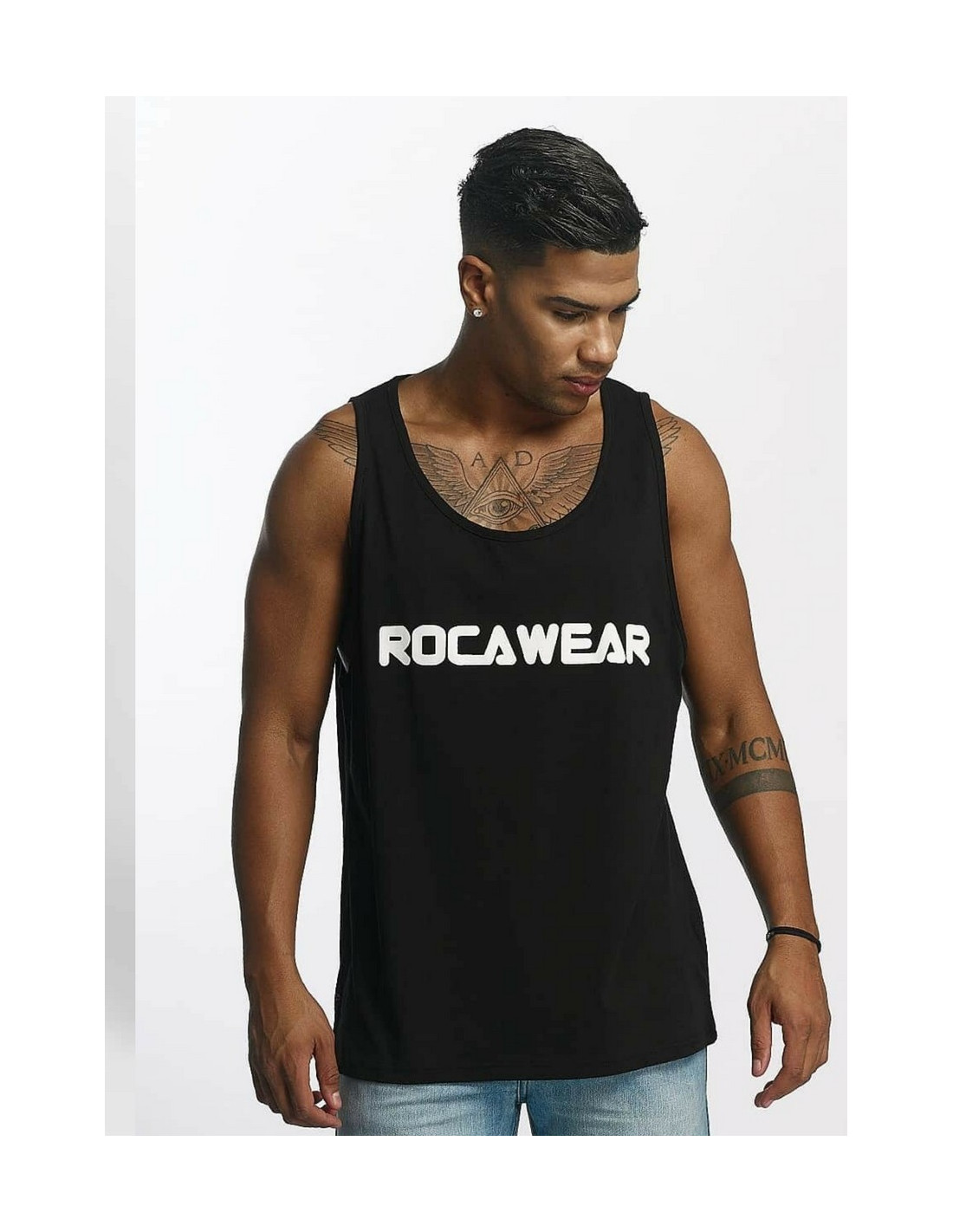Rocawear Tank Top Color Block Black