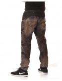 Access Denim Biker Jeans Black Copper