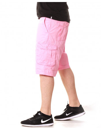Access Washed Cargo Shorts LT Pink