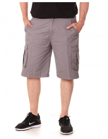 Access Washed Cargo Shorts LT Grey
