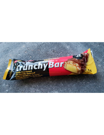 Crunchy Protein Bar Vanilla-Caramel 45g Rebel Protein Bar