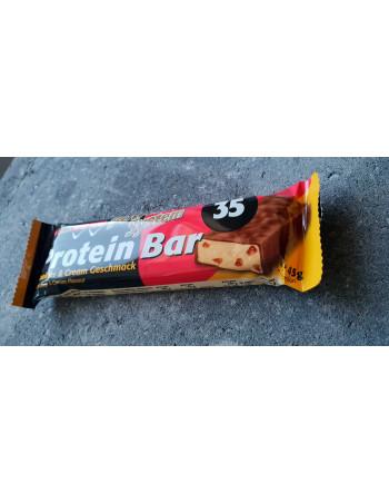 Protein Bar Cookies & Cream 45g Rebel Protein Bar