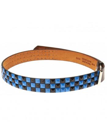 Belt, Navy Studded