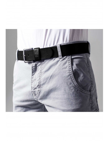 Leather Imitation Belt black